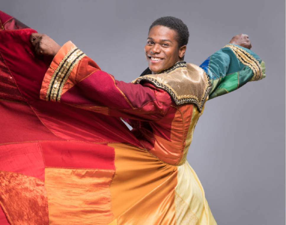 "|  Courtesy   Actor Conlon Bonner as Joseph in Hale Centre Theatre's production of ""Joseph and the Amazing Technicolor Dreamcoat."""