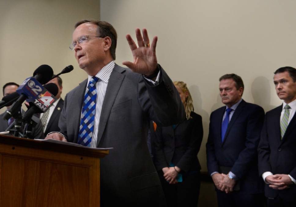 Scott Sommerdorf   |  Tribune file photo Sen. Stuart Adams, R-Layton, lists 16 companies on his financial disclosure, saying he feels an obligation to name all of them.