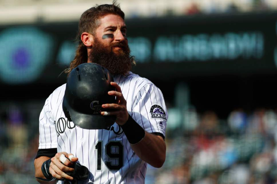 MLB Complete With Bushy Beard And Mullet Charlie