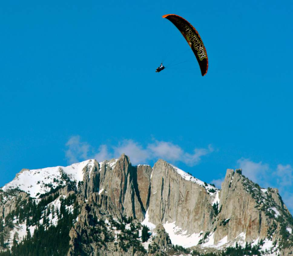 Paraglider In Critical Condition After Crashing Near