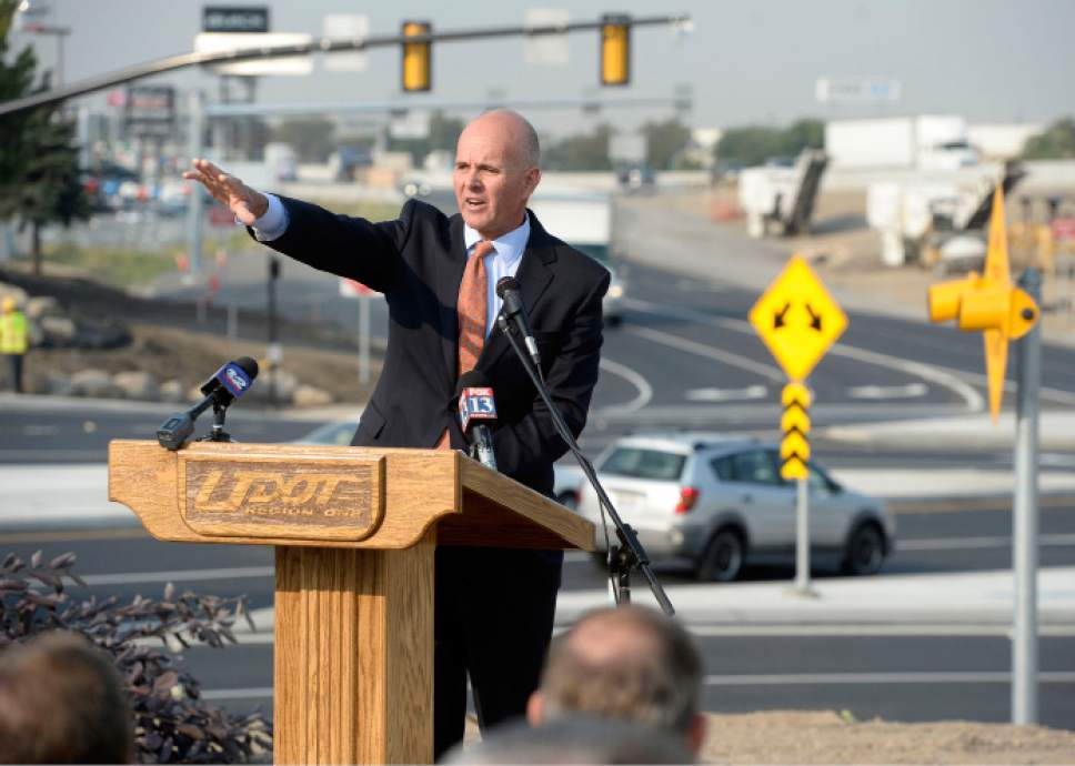 Al Hartmann  |  Tribune file photo Carlos Braceras, Executive Director of the Utah Department of Transportation.