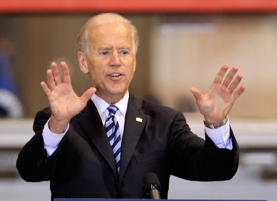 Joe Biden • Former U.S. vice president