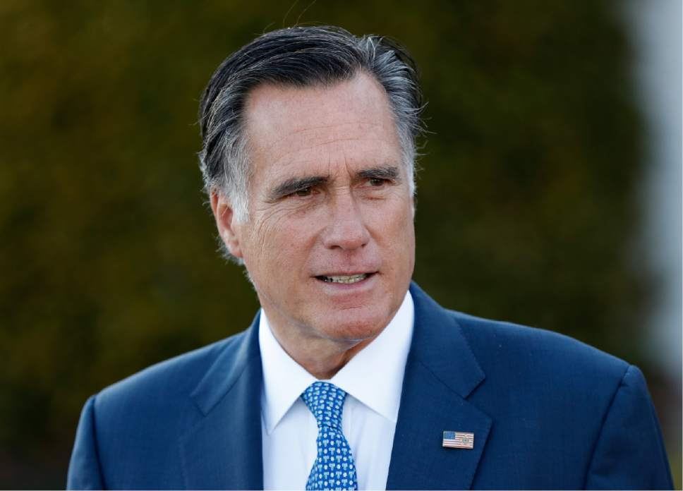 Former GOP presidential nominee Mitt Romney will interview former Democratic Vice President Joe Biden during a Friday evening event in Park City, Utah, at the invitation-only summit. The speaker lineup for what is traditionally a gathering of Romney allies is packed with high-profile Republicans, among them House Speaker Paul Ryan and Sens. Lindsey Graham and John McCain