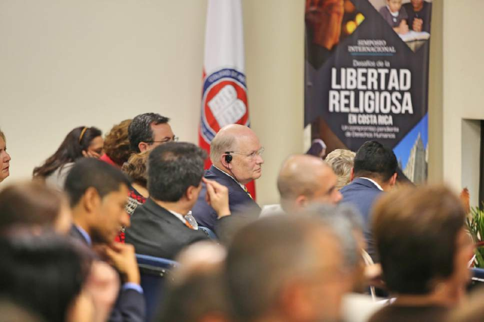 photo courtesy LDS Church The Church of Jesus Christ of Latter-day Saints and Brigham Young University were presenters at an international religious freedom symposium in Costa Rica, June 9, 2017.