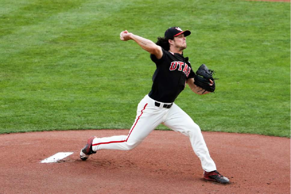 |  Courtesy Utah Athletics  Utah pitcher Riley Ottesen.