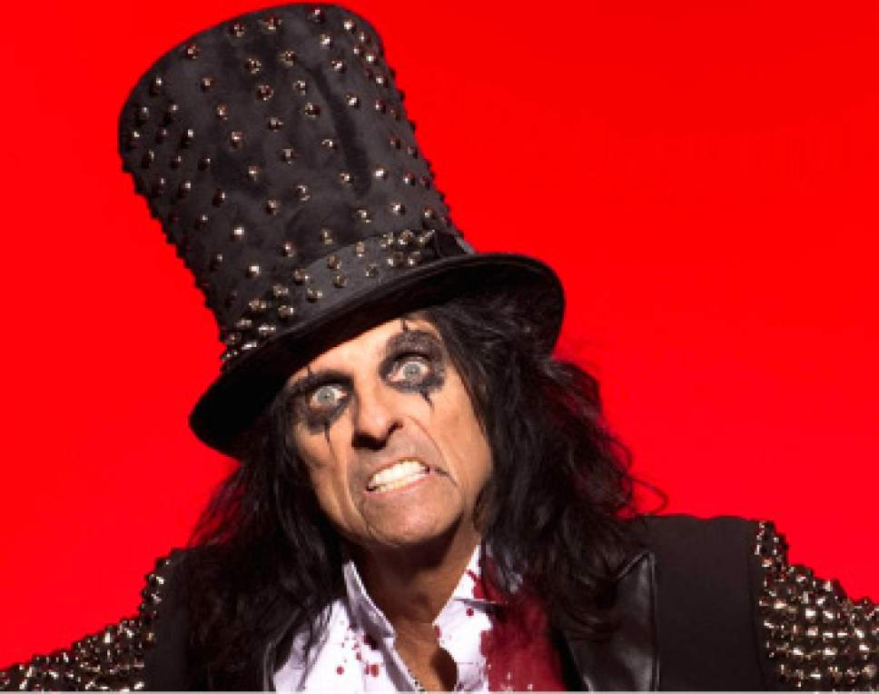 "|  Courtesy of Alice Cooper   Alice Cooper, ""The Godfather of Shock Rock"" will perform. June 13, 2017, at Kingsbury Hall in Salt Lake City. Visit tickets.utah.edu/events/alice-cooper for tickets."