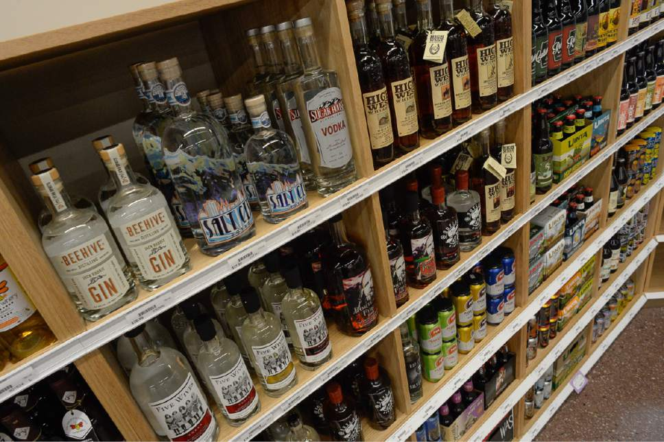 Francisco Kjolseth | The Salt Lake Tribune Thrifty drinkers will want to shop Utah state liquor stores on or before Friday, June 30, as booze prices will increase two percent  come Saturday, July 1.