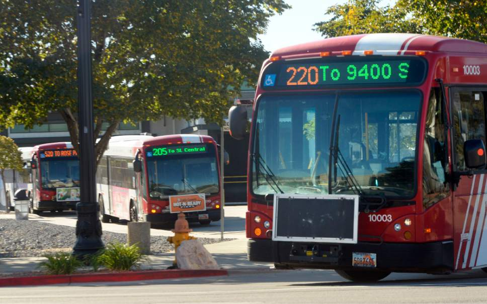 Al Hartmann  |  Tribune file photo Task force says big changes could be coming to transit and transportation in Utah.