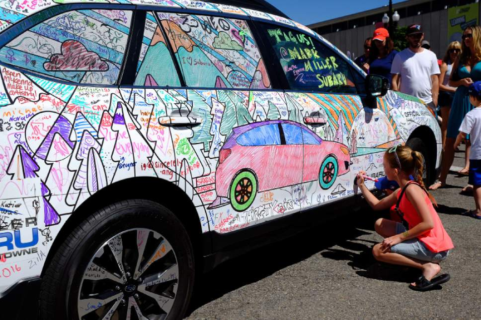 Subaru Salt Lake City >> It would be hard to run out of things to do at this year's ...