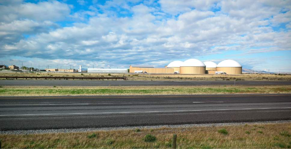 |  Courtesy of Wasatch Resource Recovery  Rendition of Utah's first anaerobic digester for turning organic food waste into renewable fuels. Officials broke ground on the new facility Thursday.