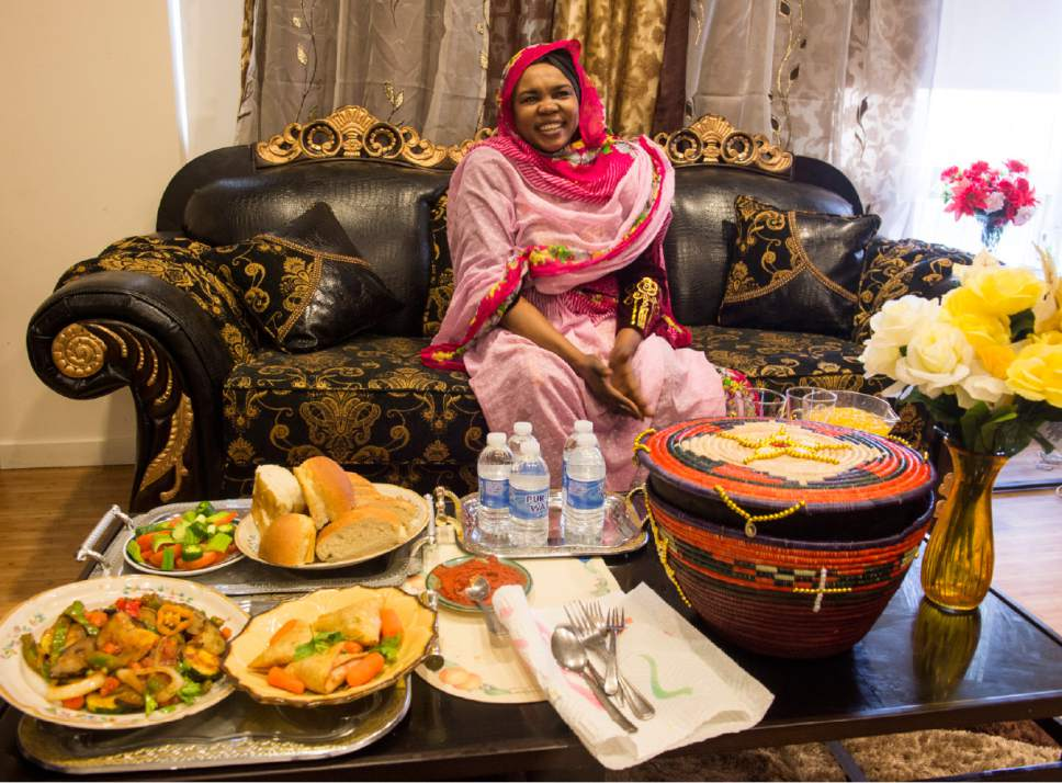 refugee brings taste of sudan to utah leaves behind pain