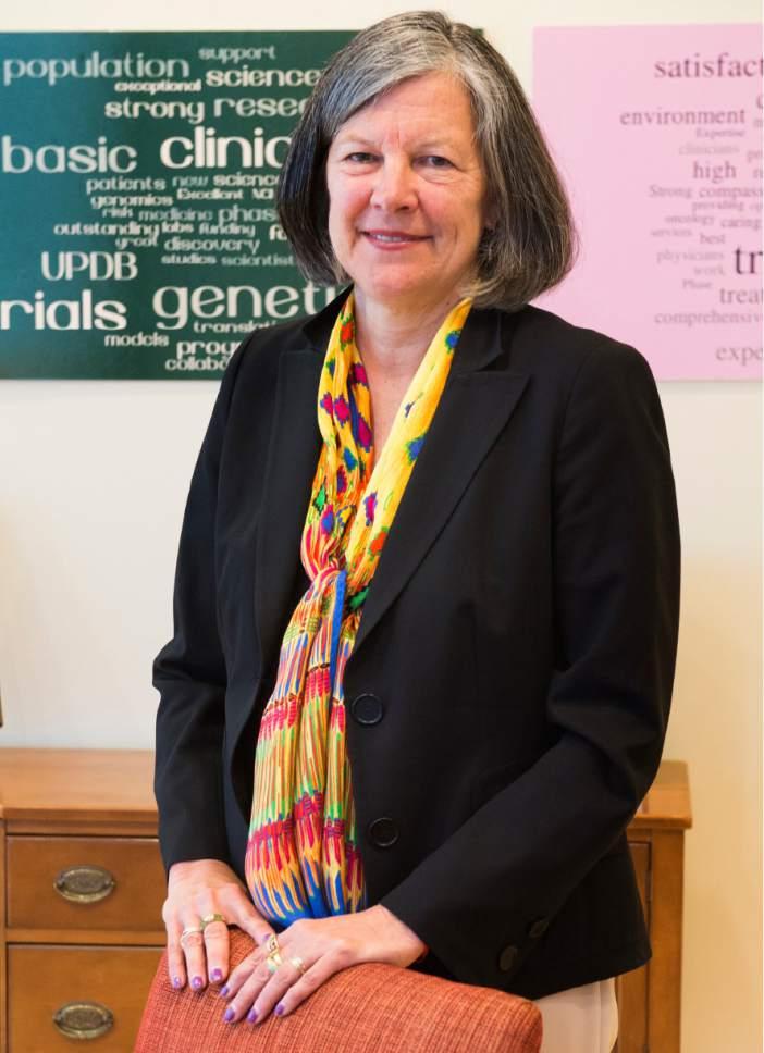 Rick Egan  |  The Salt Lake Tribune  HCI director Mary Beckerle at the  Huntsman Cancer Institute, Monday, June 19, 2017.