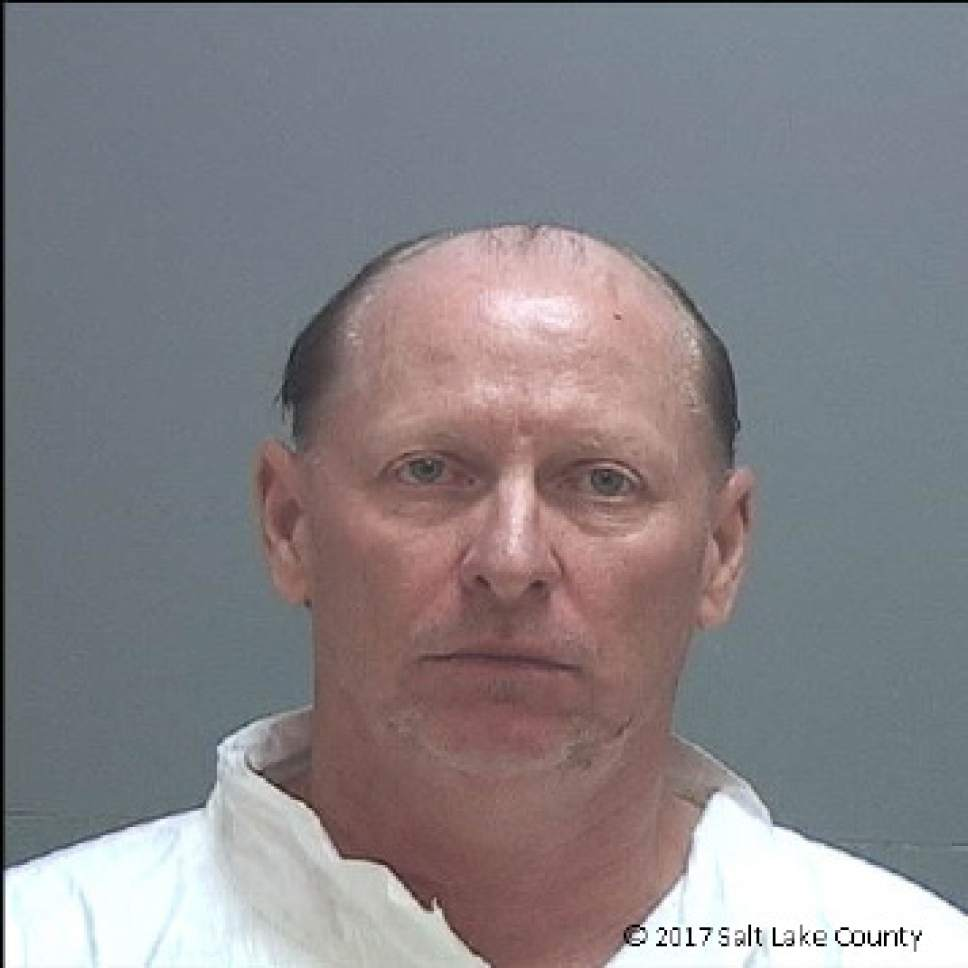 Courtesy Salt Lake County jail  Carl David Johnson Jr.