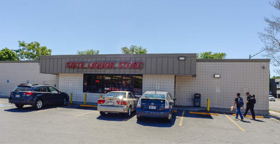 Francisco Kjolseth  |  The Salt Lake Tribune Salt Lake County Mayor Ben McAdams has asked the state to relocate the liquor store in downtown Salt Lake City at 205 W. 400 South to help reduce criminal activity among the homeless.