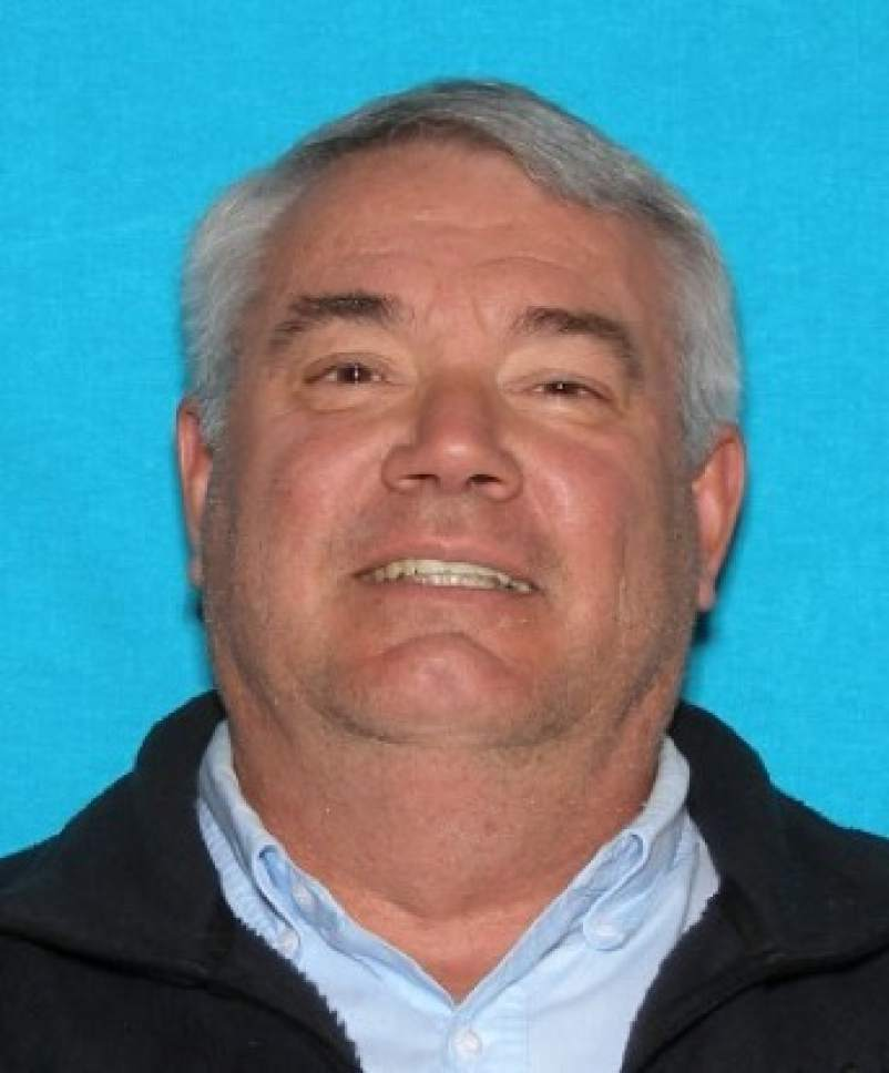 """In this undated photo released by the Canyon County Sheriff's office shows suspect Gerald """"Mike"""" Bullinger, formerly of Ogden, Utah.   Canyon County Sheriff's Chief Deputy Marv Dashiell says Bullinger, is considered a person of interest in the murders discovered Monday, June 19, 2017 at a Caldwell, Idaho home. A sheriff's deputy found the bodies hidden in a shed after family members from out-of-state called to ask that someone check on Bullinger and other family members who had recently moved to the tiny Idaho farmhouse.  (Canyon County Sheriff via AP)"""