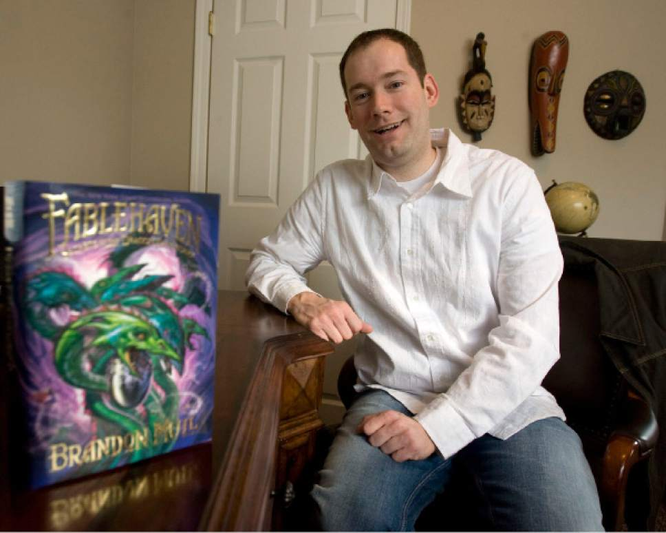 Tribune file photo Brandon Mull, author of the popular Fablehaven and Beyonders series of books, is pictured.