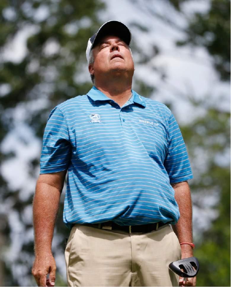 Kirk Triplett takes lead into final round of U.S. Senior Open - The ...
