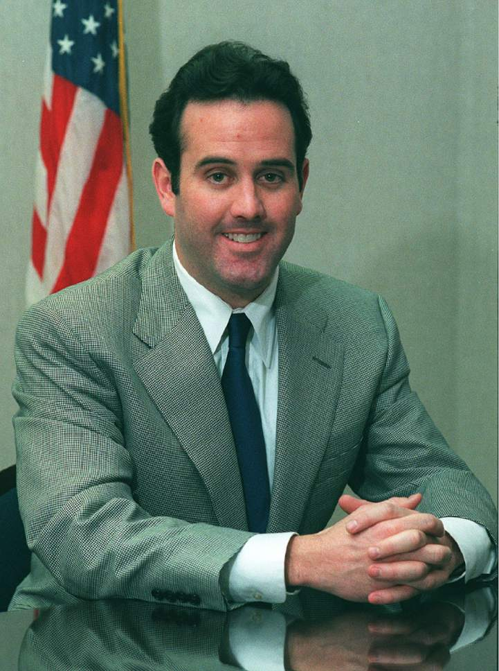 Rick Egan  |  Tribune file photo   Jeff Wright, then a Republican congressional candidate, in 2000.