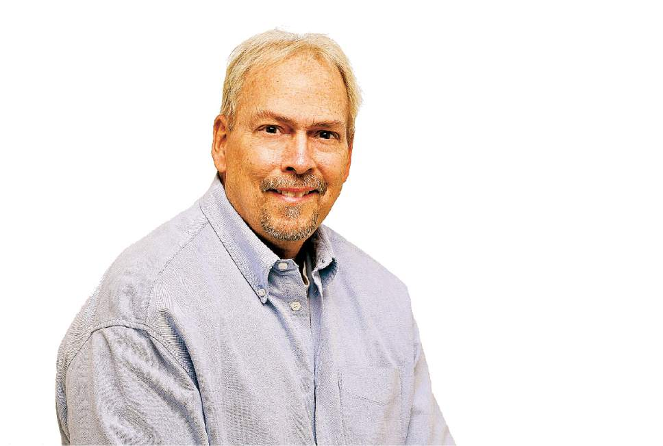 Francisco Kjolseth | The Salt Lake Tribune The Salt Lake Tribune staff portraits. Gordon Monson