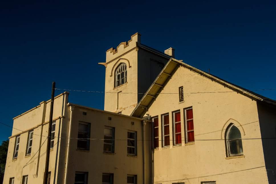 Chris Detrick  |  The Salt Lake Tribune   Mount Vernon Academy Building, 180 E. Vine, photographed in Murray on Thursday, June 29, 2017.