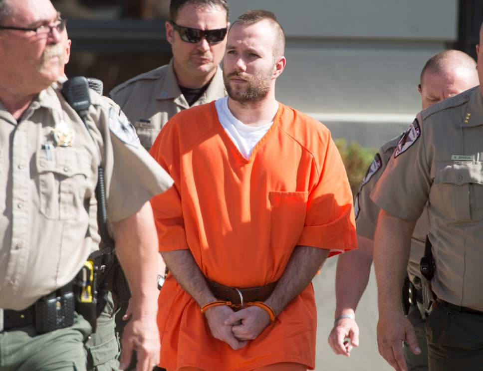 "Rick Egan  |  Tribune file photo Dereck James ""DJ"" Harrison was sentenced to life in prison for his role in the kidnapping and killing of UTA worker Kay Ricks."