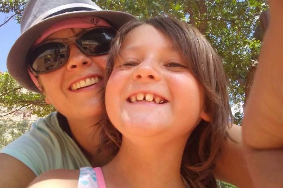 Photo courtesy of Sam Berg Gabriella Fullerton and her mother, Linda Fullerton.
