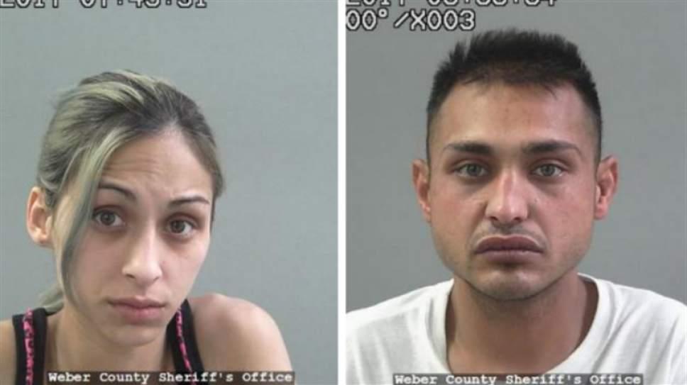 Courtesy Weber County jail Brenda Emile, left, Miller Costello