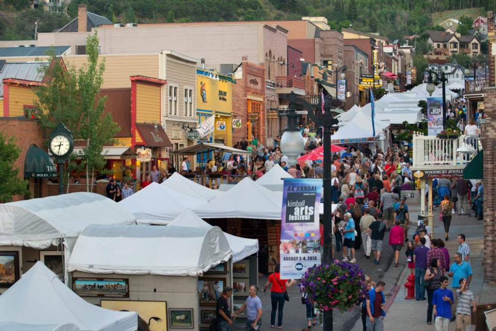 The Kimball Arts Festival has an agreement to remain on Park City's Historic Main Street through 2021.  Mark Maziarz  |  Courtesy Kimball Art Center