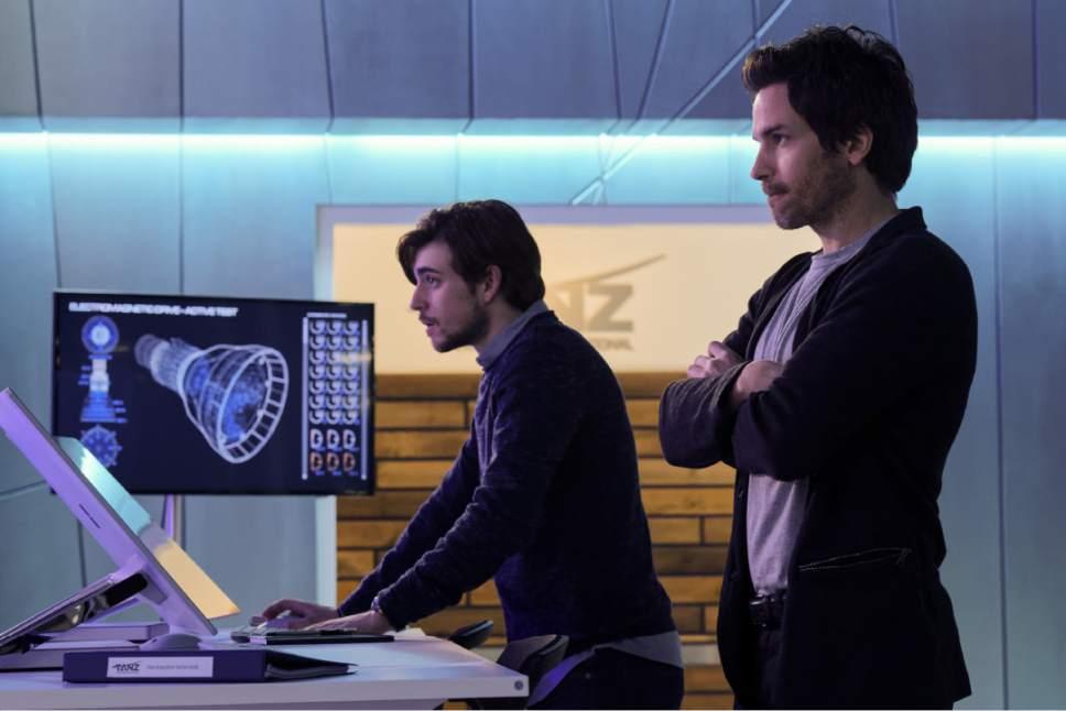 "Ben Mark Holzberg  |  CBS   Charlie Rowe and Santiago Cabrera star in ""Salvation."""