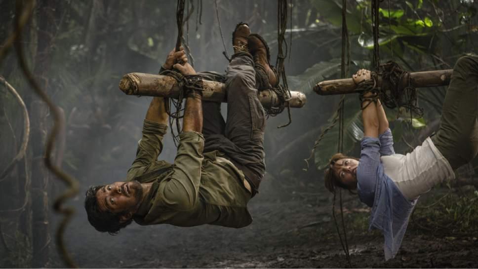 Casey Crafford  |  Sky Productions  Michael Landes stars as Hooten and Ophelia Lovibond stars as Lady Alex Spencer-Parker.