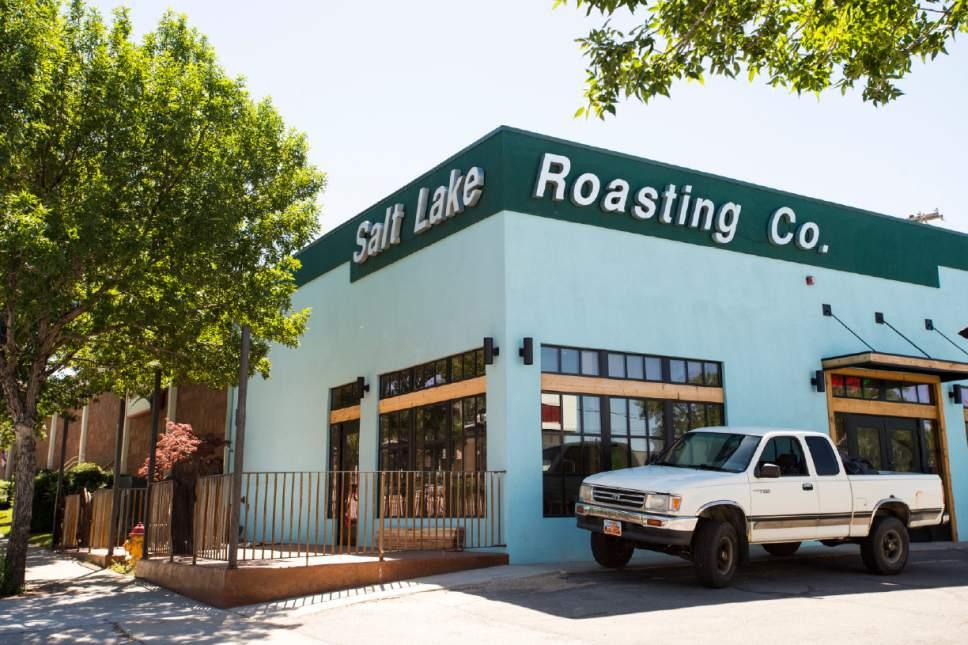 Rick Egan     The Salt Lake Tribune  The new Salt Lake Roasting Company location, 820 E. 400 South. Friday, June 23, 2017.