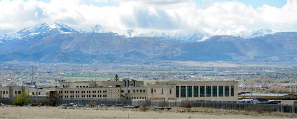 Steve Griffin  |  The Salt Lake Tribune   The site of the current Utah State Prison is one of two proposed sites for a homeless shelter in Draper Tuesday March 28, 2017.