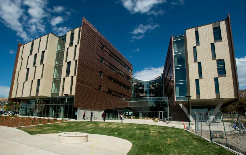 Rick Egan  |  Tribune file photo  The Lassonde Entrepreneur Institute at the University of Utah opened the doors in August to the $45 million Lassonde Studios, a one-of-a-kind facility where students can live, create new products and launch companies. Thursday, September 22, 2016.