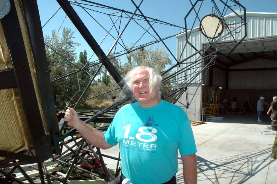 Courtesy Joe Bauman Mike Clements created what has been billed as the largest  amateur telescope