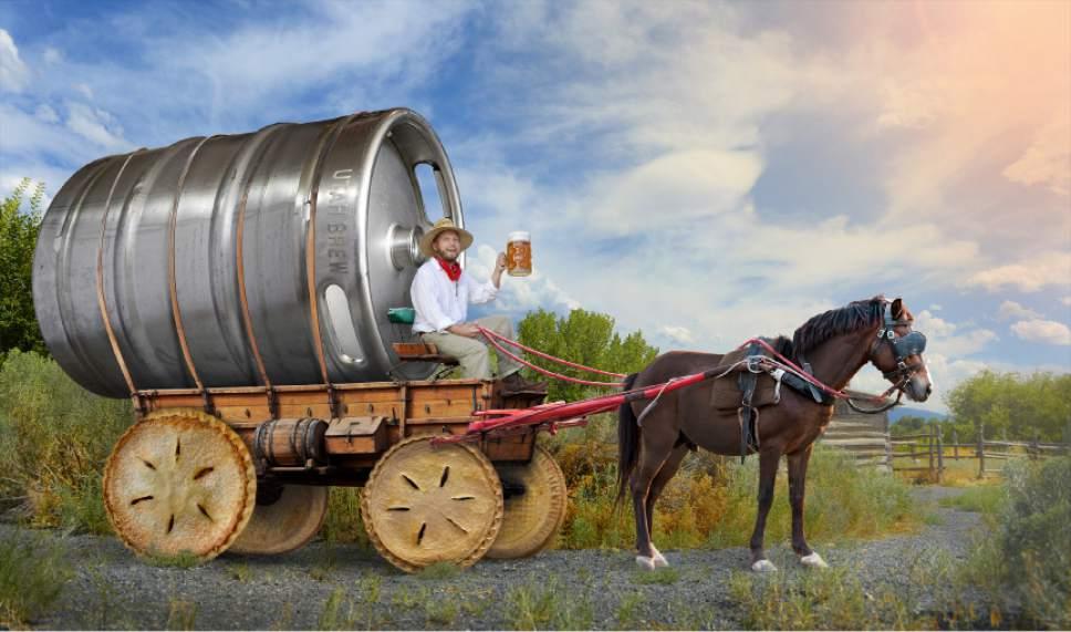 Francisco Kjolseth | The Salt Lake Tribune Happy Pie & Beer Day! Photo illustration by Francisco Kjolseth