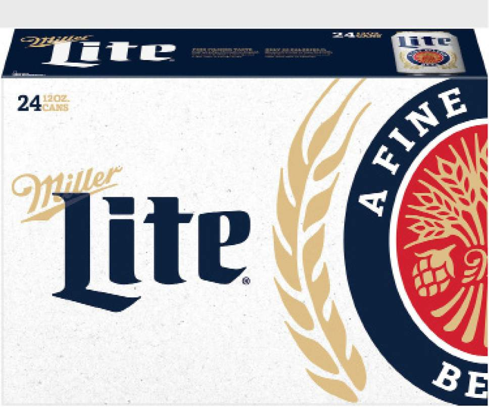 Miller Lite Packaging, Advertising, Marketing All to Feature Classic Look That Established the Light Beer Category (PRNewsFoto/Miller Lite)