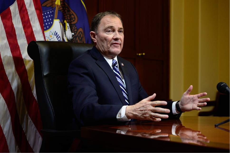 Scott Sommerdorf  |  Tribune file photo  Gov. Gary Herbert doesn't see the need for a special session of the Legislature to fill in the gaps of state law to fill a midterm vacancy in a U.S. House seat. He worries that a number of lawmakers looking at running for Rep. Jason Chaffetz's seat would be tempted to use the opportunity to game the system.