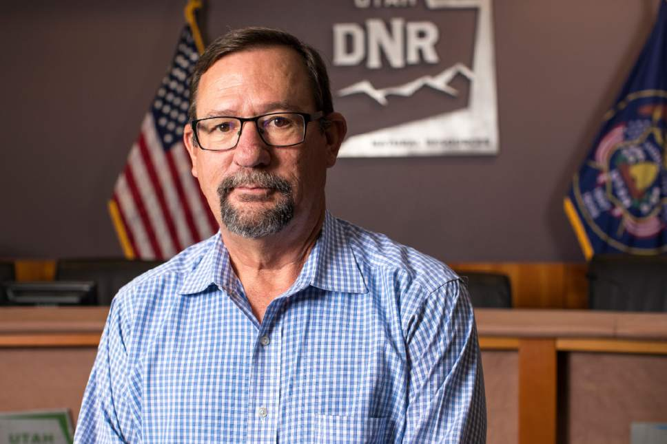 |  Courtesy of Utah Division of Wildlife Resources Mike Fowlks, a 24-year veteran of the Utah Division of Wildlife Resources, was named Thursday to take over the agency.