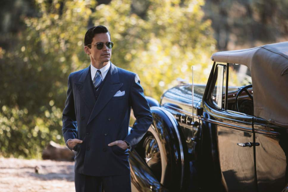 "This image released by Amazon shows Matt Bomer in ""The Last Tycoon."" (Merie Wallace/Amazon via AP)"