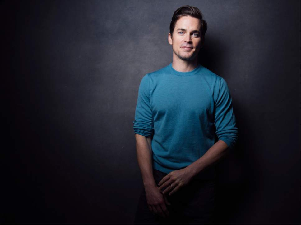 "In this June 6, 2017 photo, actor Matt Bomer, star of Amazon series, ""The Last Tycoon,"" poses for a portrait in New York. (Photo by Victoria Will/Invision/AP)"