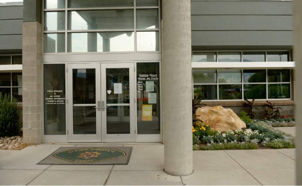 Leah Hogsten     The Salt Lake Tribune The Utah County jail located in Spanish Fork.