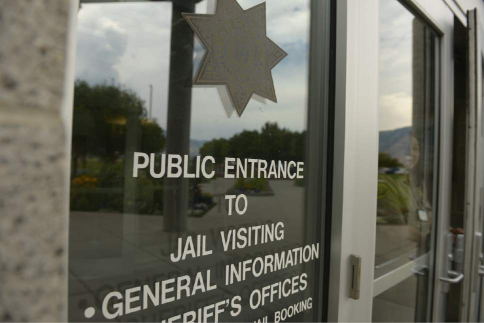 Leah Hogsten  |  The Salt Lake Tribune The Utah County jail located in Spanish Fork.