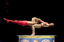 The Ringling Bros. and Barnum & Bailey Circus performs in Salt Lake City on Sept. 22-26 at the EnergySolutions Arena in Salt Lake City. Photo courtesy of Feld Entertainment.