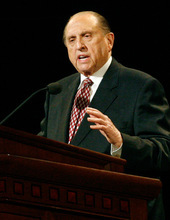 LDS Church President Thomas S. Monson