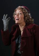 Leah Hogsten  |  The Salt Lake Tribune Celena Shafer as Musetta. La Boheme  Wednesday, October 6, 2010, in Salt Lake City.