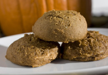 With a few not-so-scary ingredients, these double-ginger cookies are supernaturally tasty without being frighteningly unhealthy.   (AP Photo/Larry Crowe)
