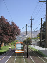 The U.S. Department of Transportation announced Wednesday that  Salt Lake City will receive $26 million to fund the Sugar House Streetcar project, pictured here in an artist's rendering.