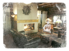 Photo illustration by Francisco Kjolseth and Blain Hefner  |  The Salt Lake Tribune  The haunted history at Log Haven restaurant includes sightings of a woman in Victorian garb.