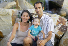 Courtesy of the Cardall family. Anna, Ava and Brian Cardall. Brian Cardall was killed by a police Taser in June 2009.