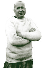 Knute Rockne, a Notre Dame legend, in a photo taken sometime before 1925. AP file photo